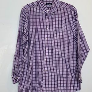 Chaps button up long sleeve shirt 💙